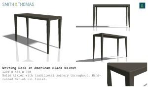 Custom Furniture design example