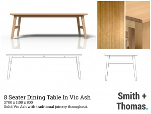 Dining Table Collage