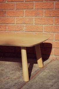 Oak Coffee Table corner