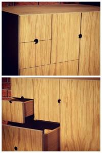 Handmade Cabinet Details