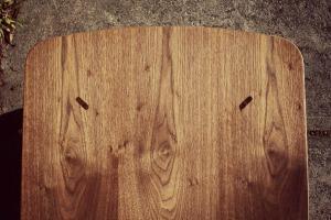 walnut coffee detail