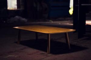 American White Oak Coffee Table.