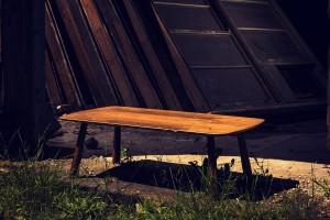 Walnut Veneered Coffee Table