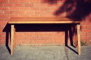 Spotted Gum Desk