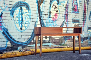 Spotted gum console 1a