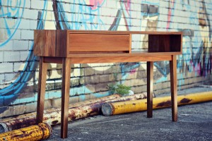 Spotted gum console 2a