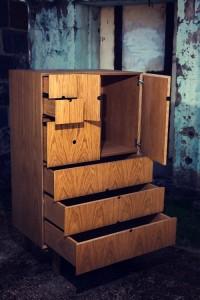 Handmade Cabinet open