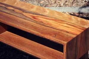 Handmade Furniture - Custom console in spotted gum